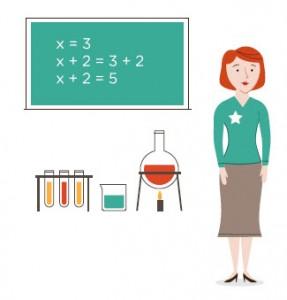 Science and math teacher full